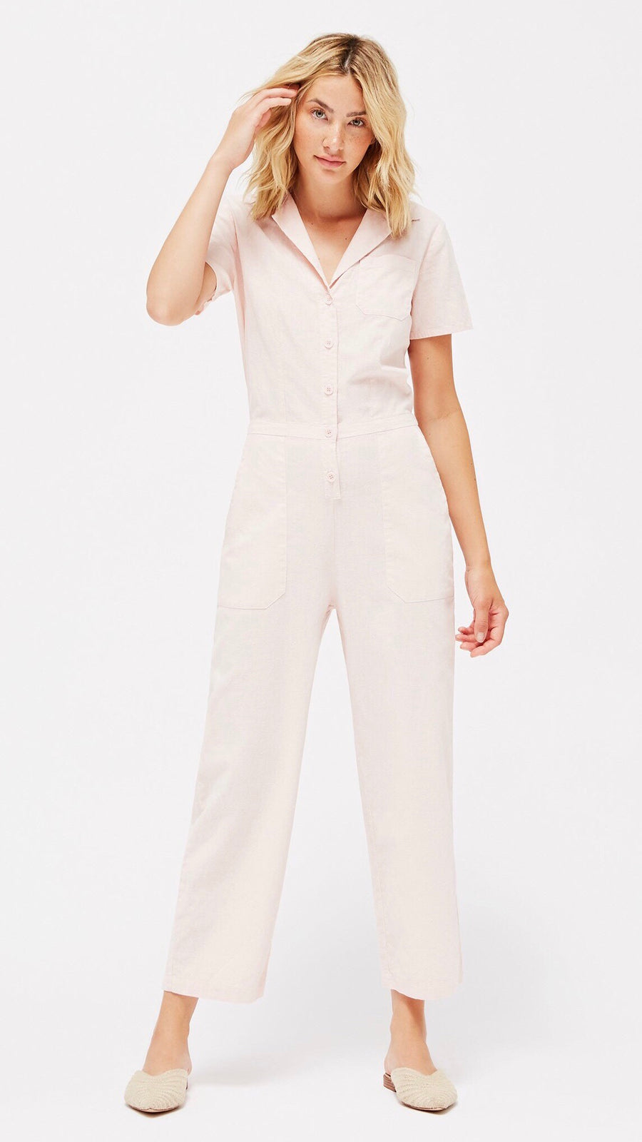 LACAUSA Clothing Montana Jumpsuit