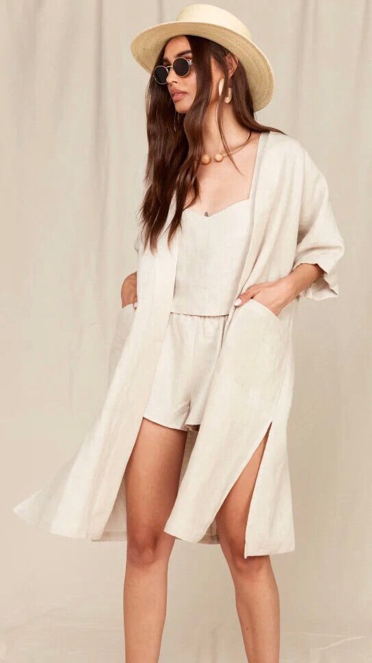MATE The Label Lily Kimono in Natural
