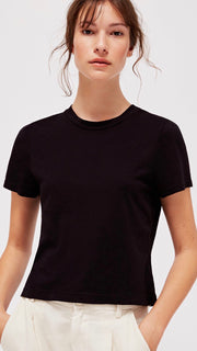 LACAUSA Clothing Foster Tee Black