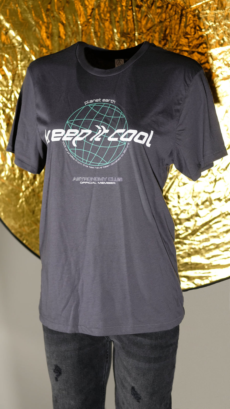 Astronomy Club Keep It Cool Organic Cotton Tee For 350.Org