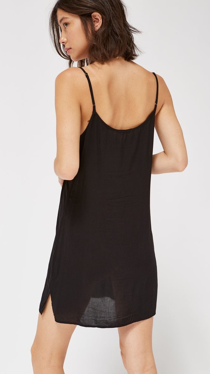 V Slip Dress by LACAUSA Clothing