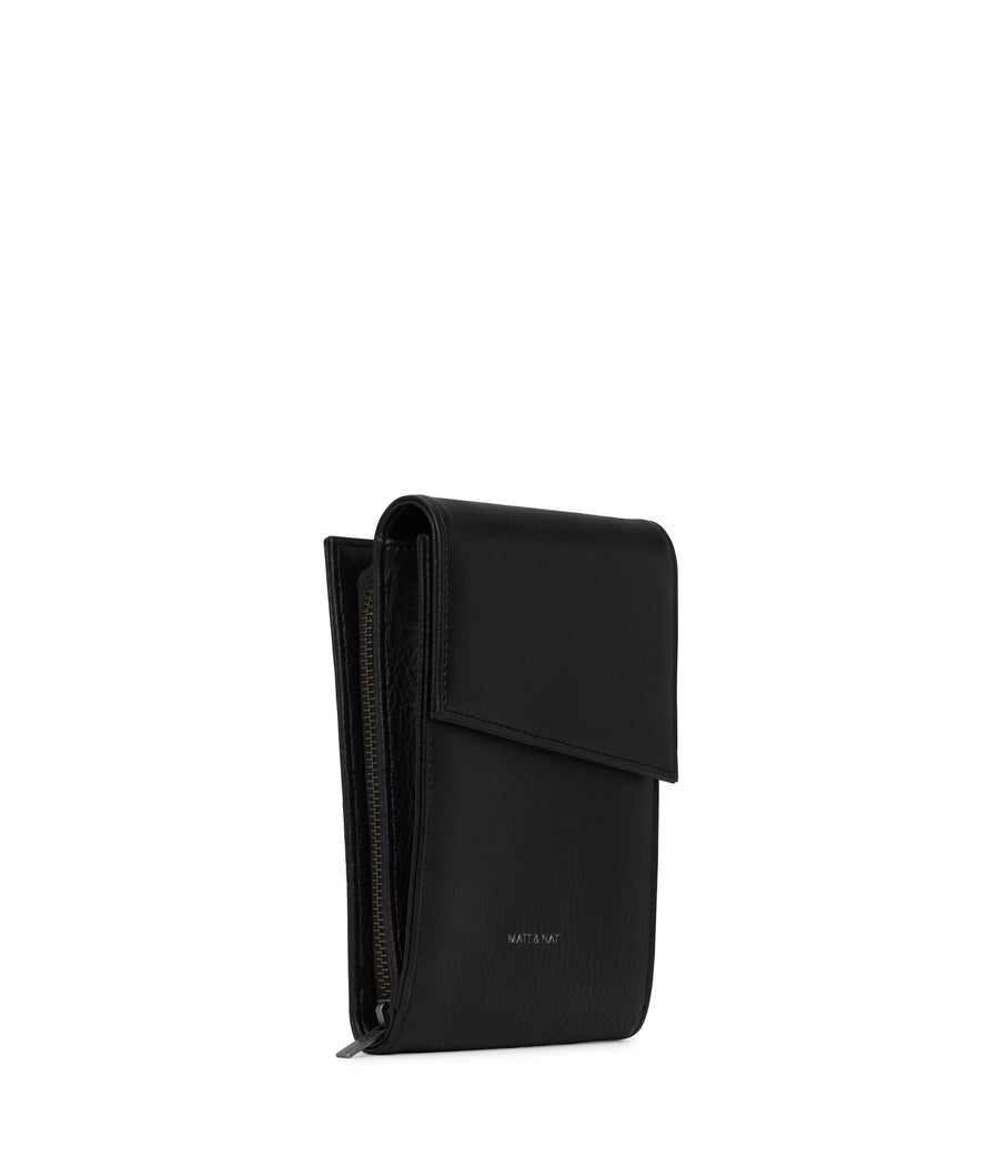 Met Crossbody Wallet in Black by Matt & Nat