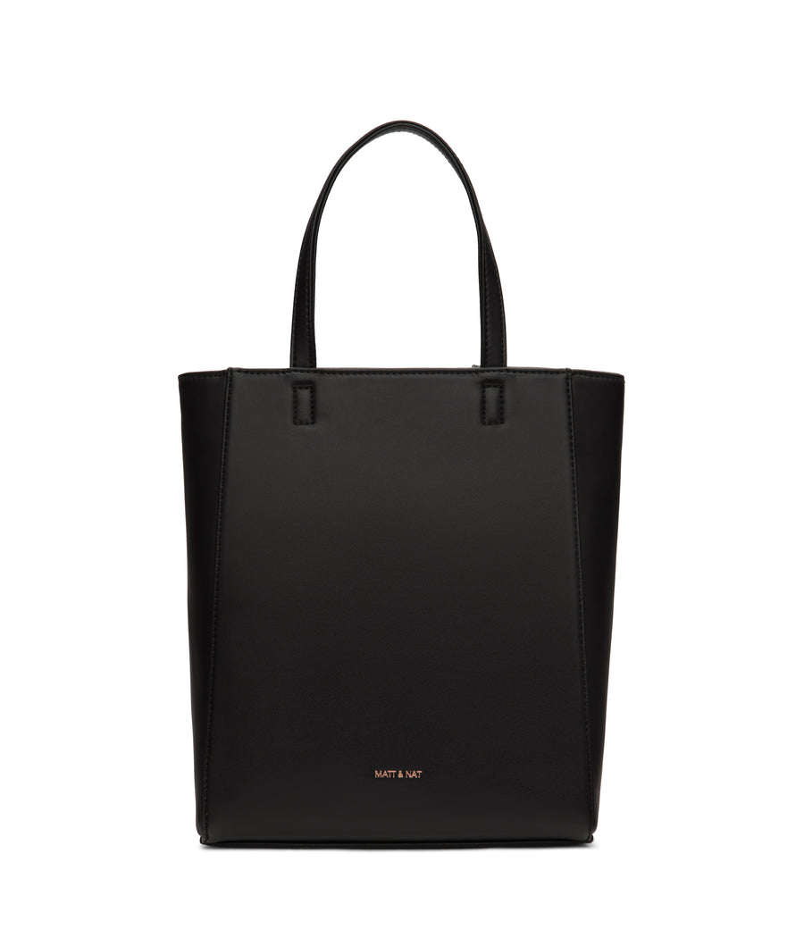 Black Sella Tote From Matt & Nat's Loom Collection