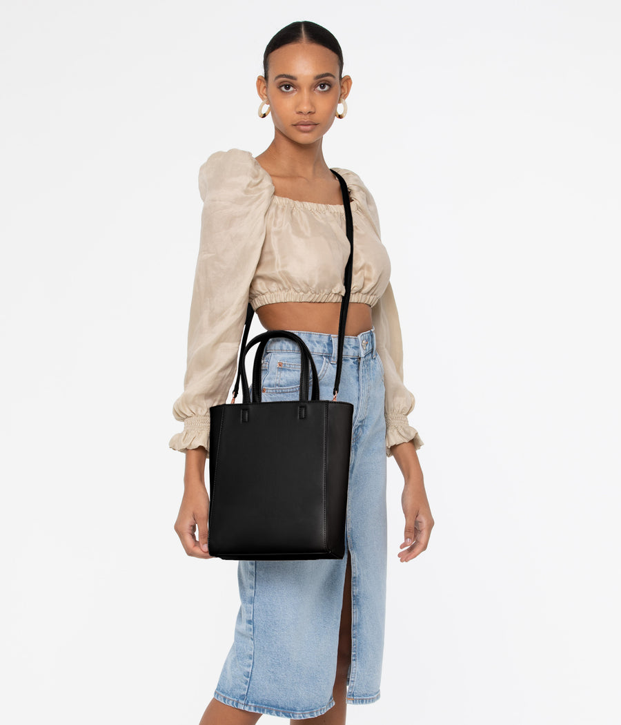 Matt & Nat Sella Mini Tote Bag with Cross Body Strap