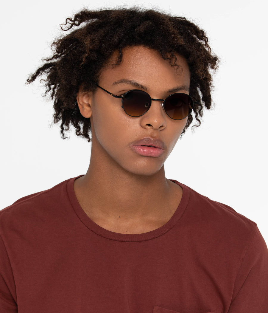 Eddon Khaki Sunglasses by Matt & Nat