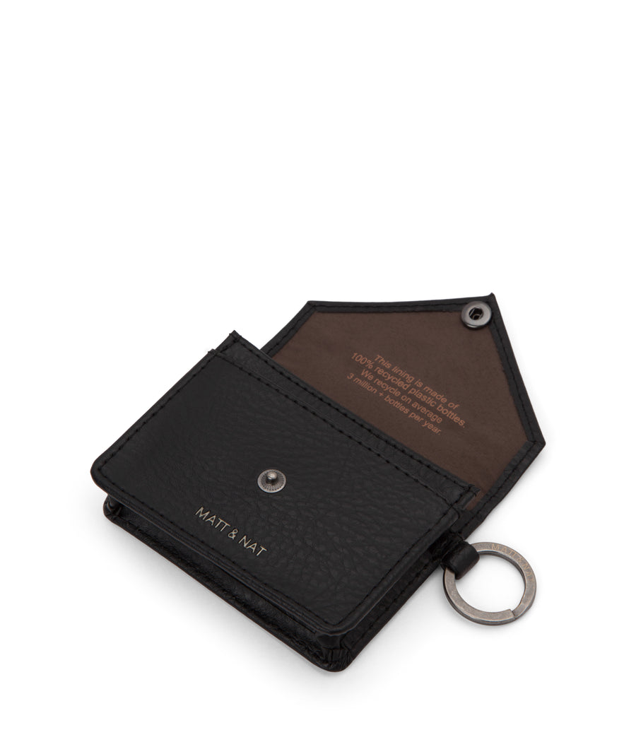 Matt & Nat Vegan Leather Coin Purse with Key Ring