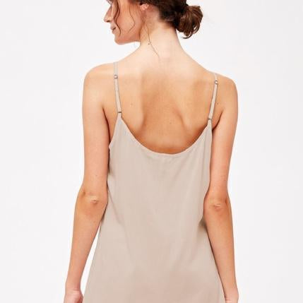 Lacausa Nude Slip Dress Ethical Clothing