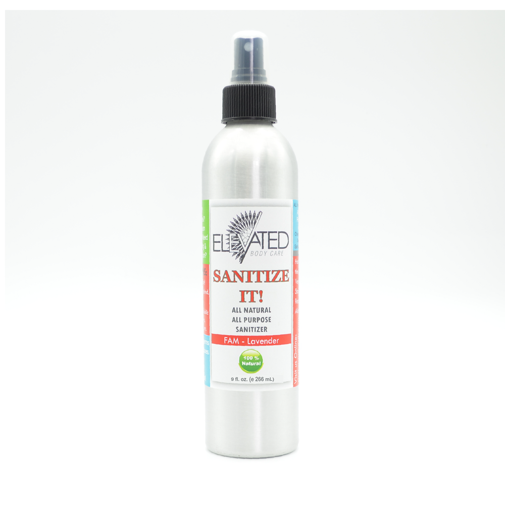 ELEVATED SANITIZE IT! Natural Hand & Household (Everything) Sanitizer