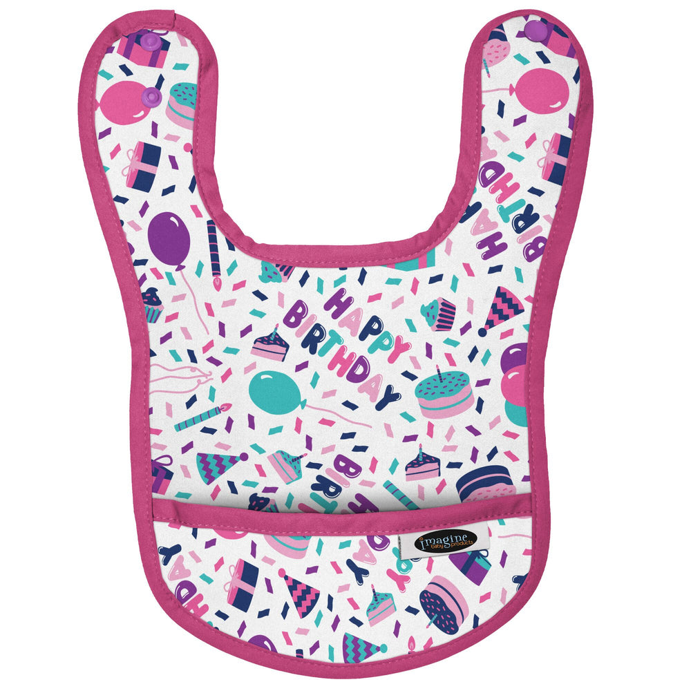 Imagine Waterproof Bib - Pretty in Purple