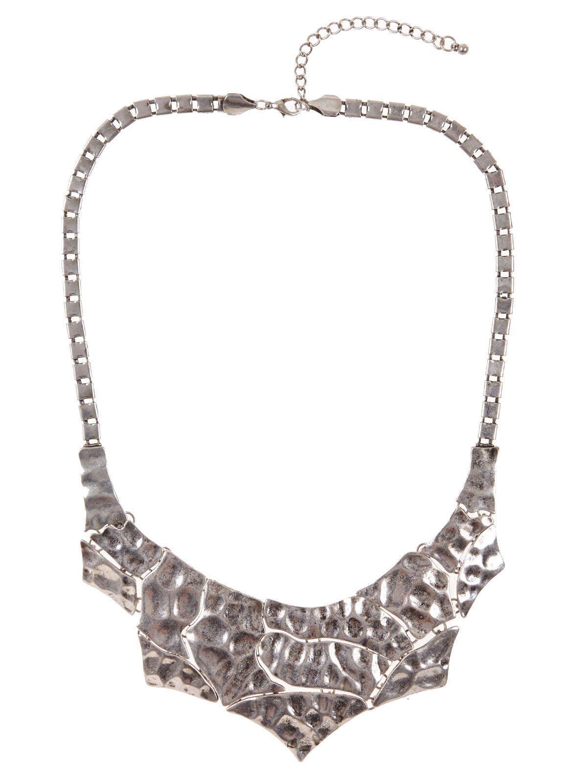 RENE NECKLACE ANTIQUE SILVER