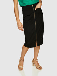 ELLIOTT PONTI SKIRT BLACK