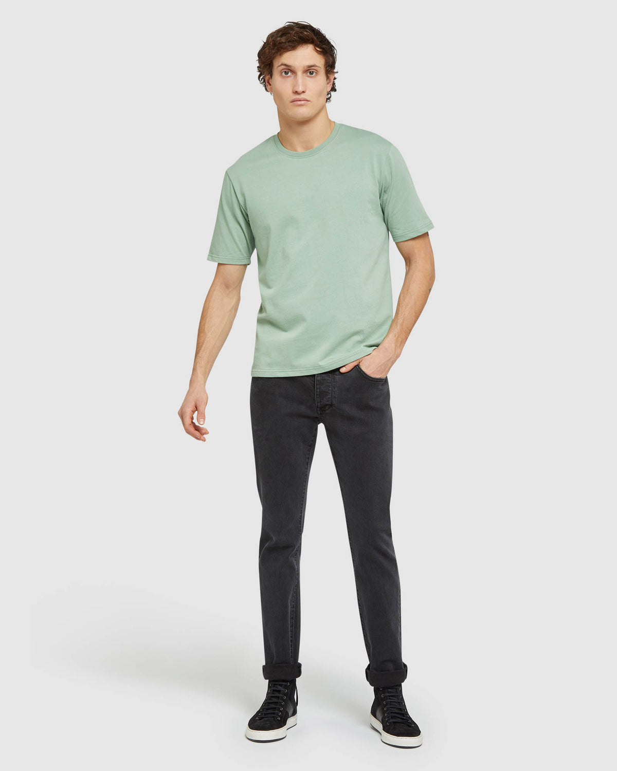 VICTOR SLIM FIT STRETCH JEANS BLACK