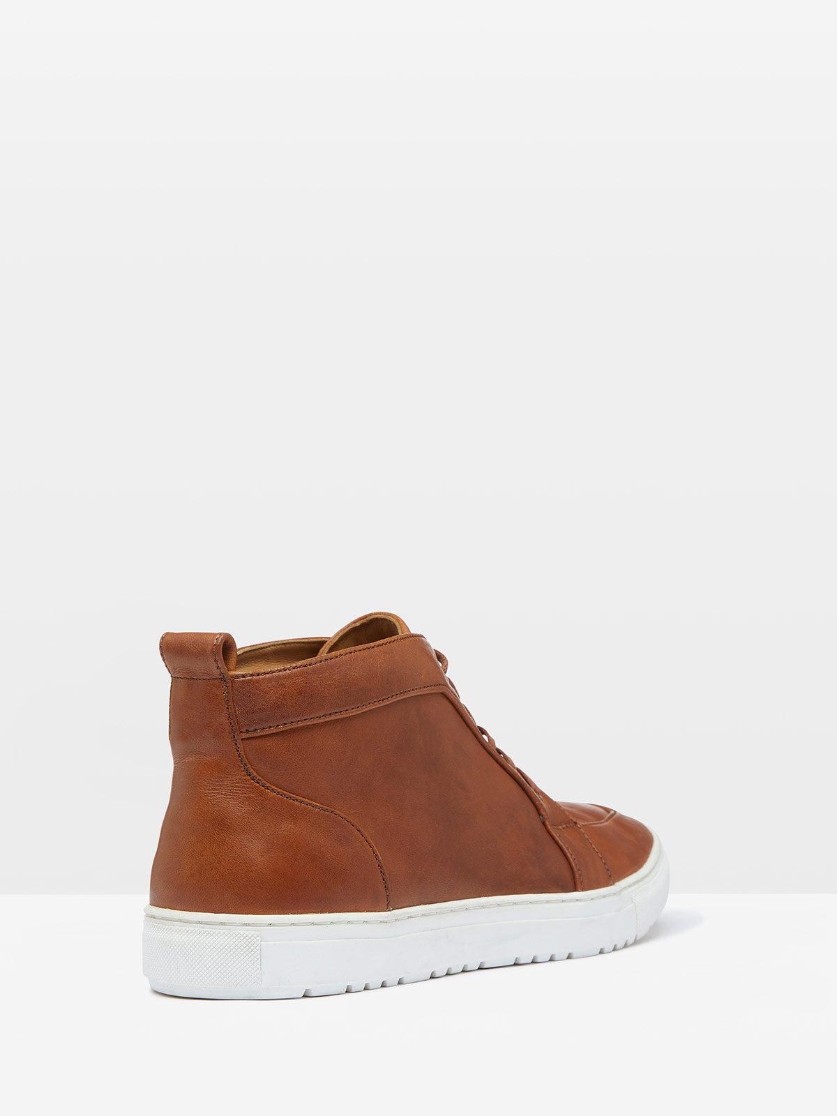 HANK HI-TOP TRAINER TAN