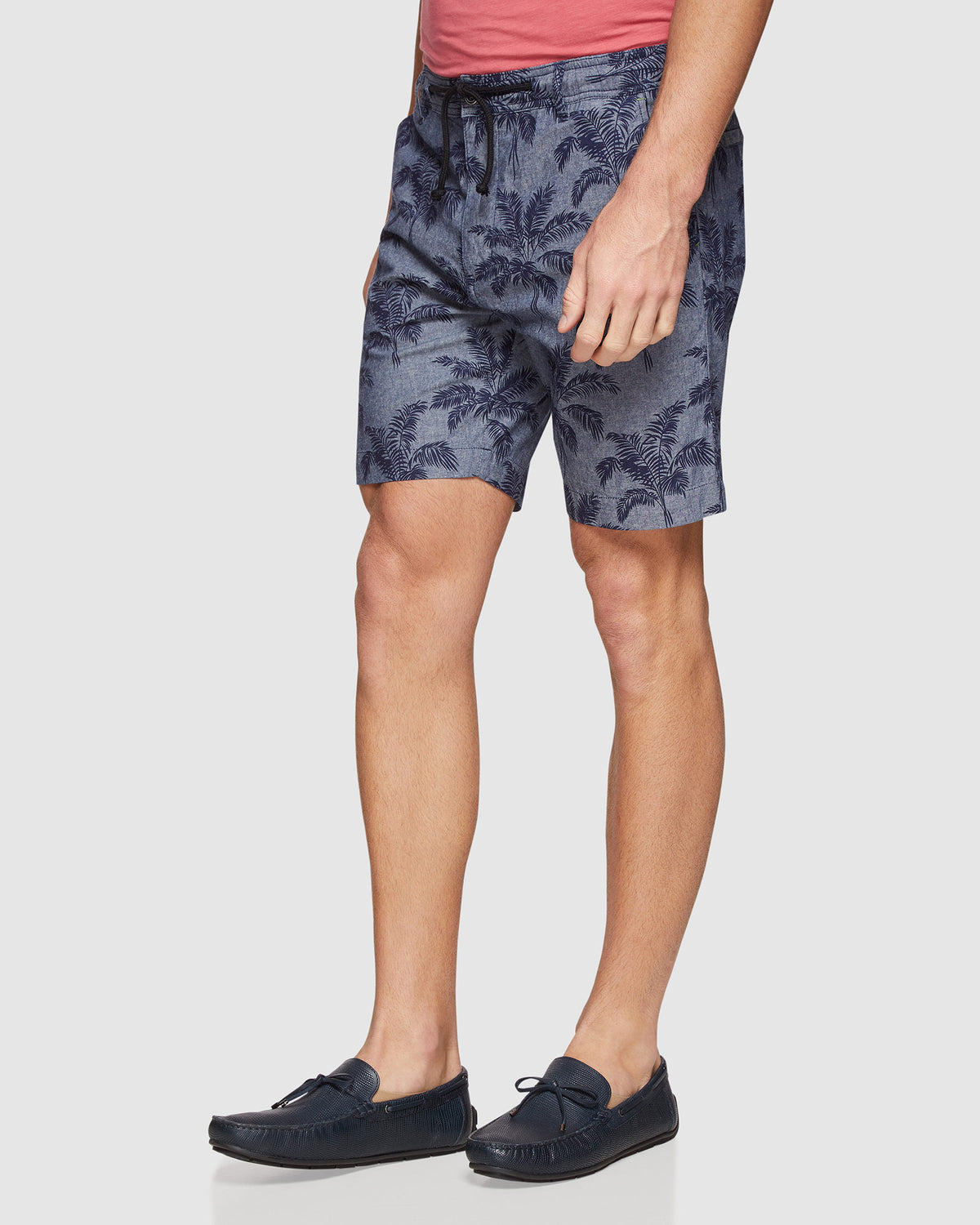 FREDDY PRINTED SHORTS CHAMBRAY