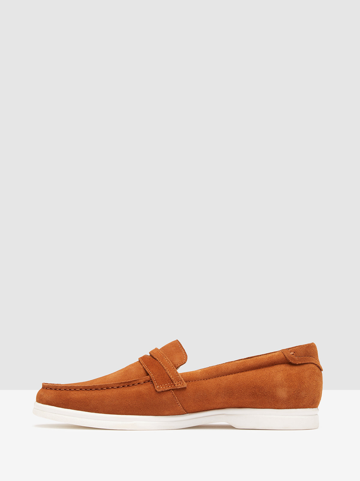 DUKE SUEDE LOAFER TOBACCO