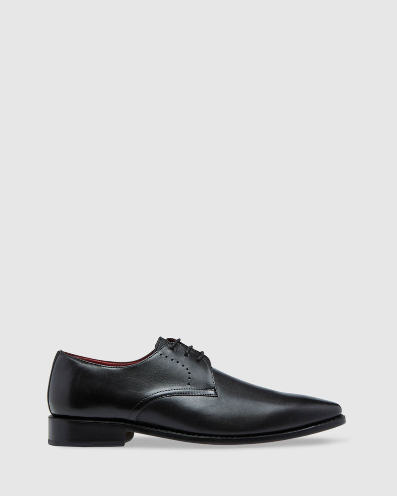 MONTGOMERY GOODYEAR WELTED SHOE BLACK