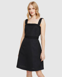 TALI LACE TRIM DRESS