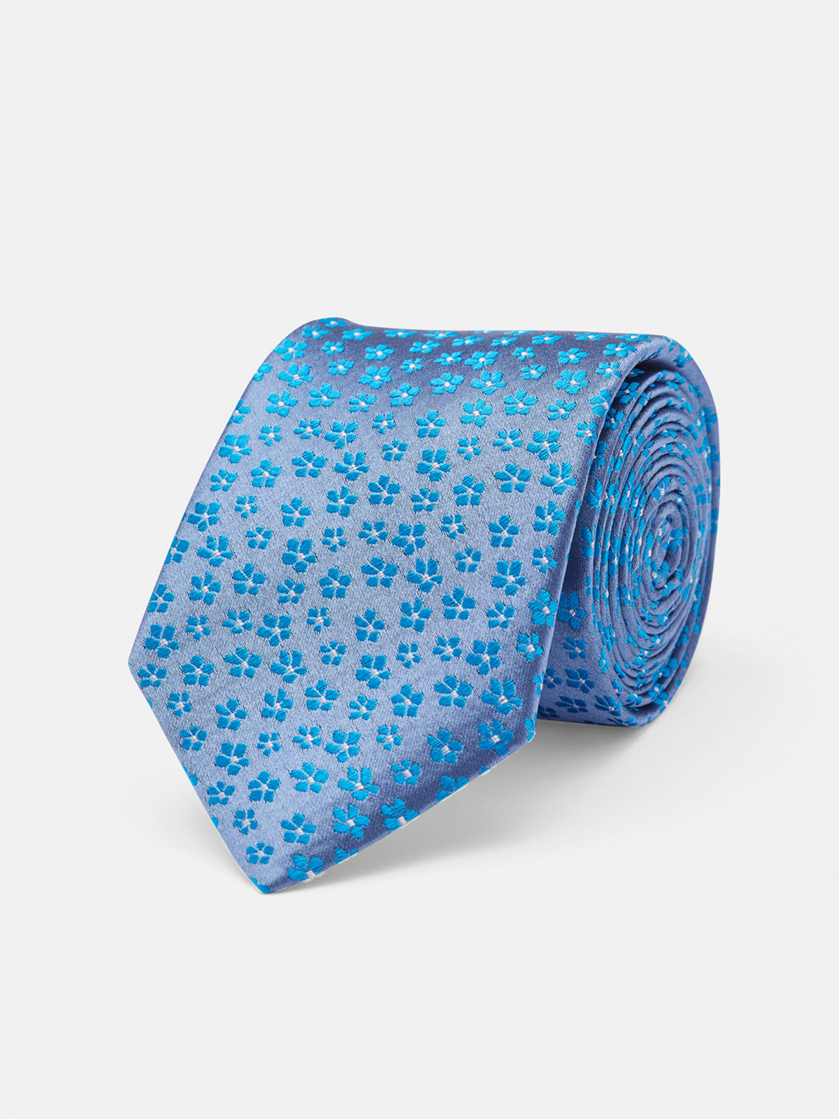 TIE SILK FLOWERS REGULAR BLUE