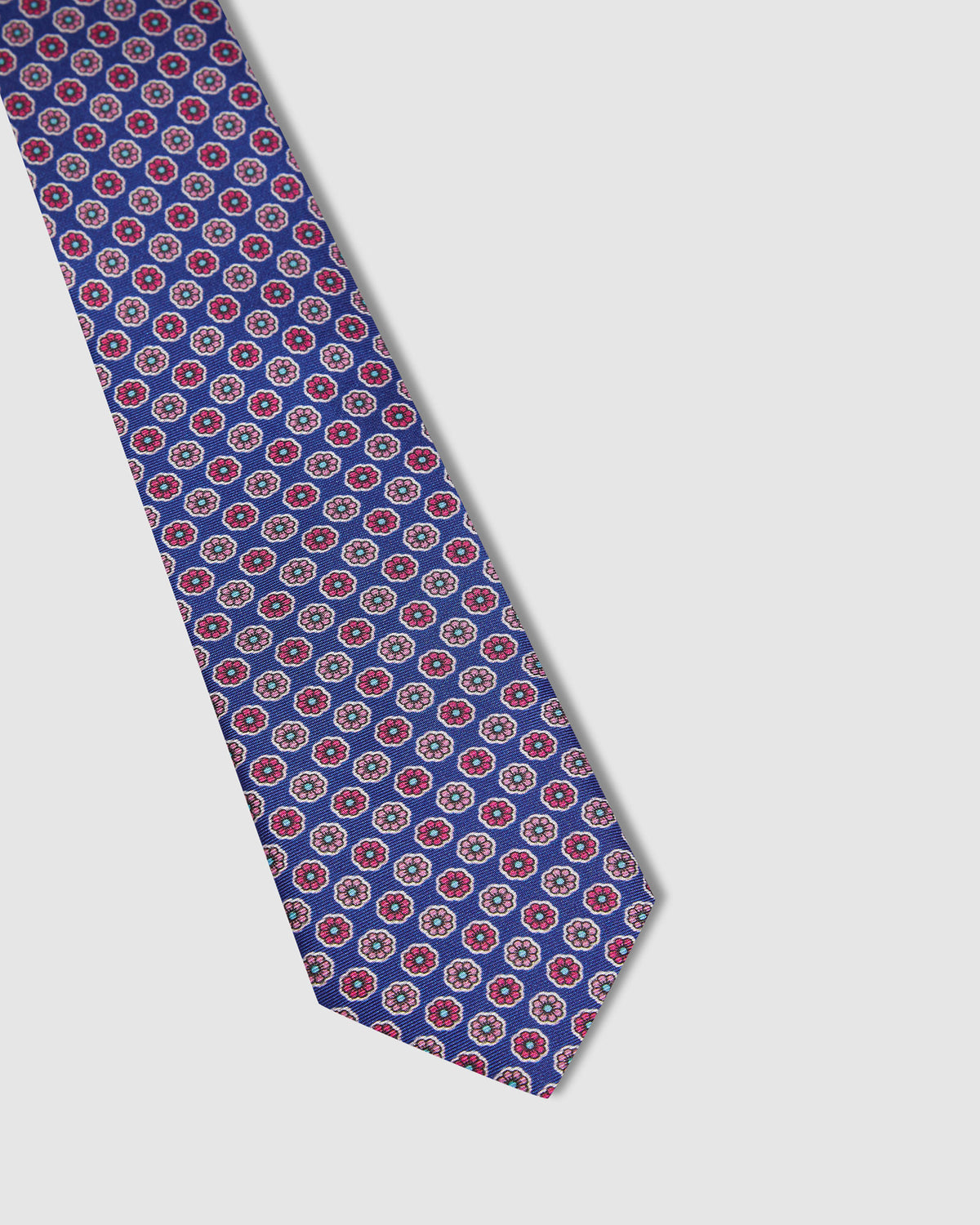 DAISY TIE BLUE/PINK