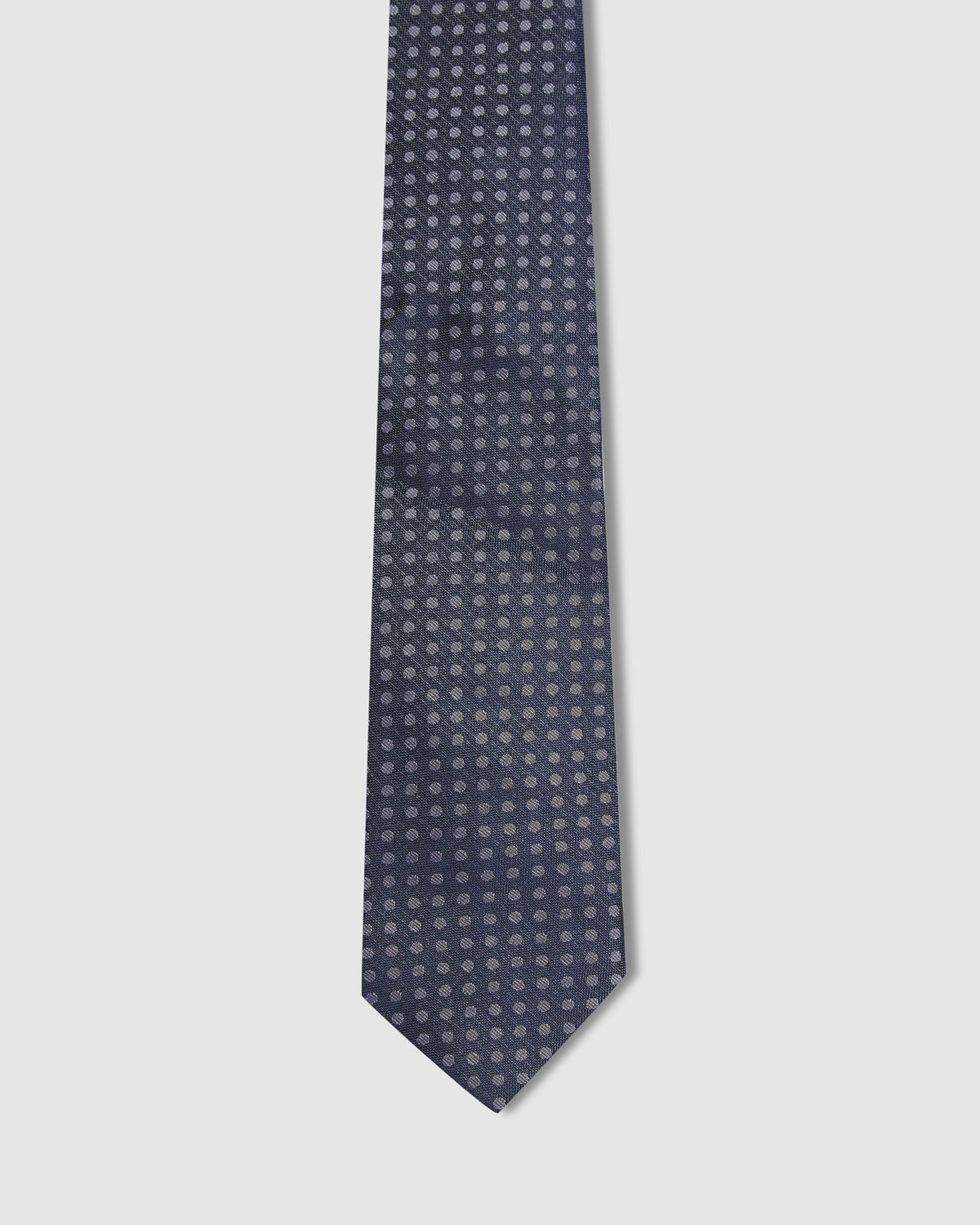 SILK TEXTURE WITH SPOT TIE