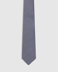 MINI STRIPE SILK TIE