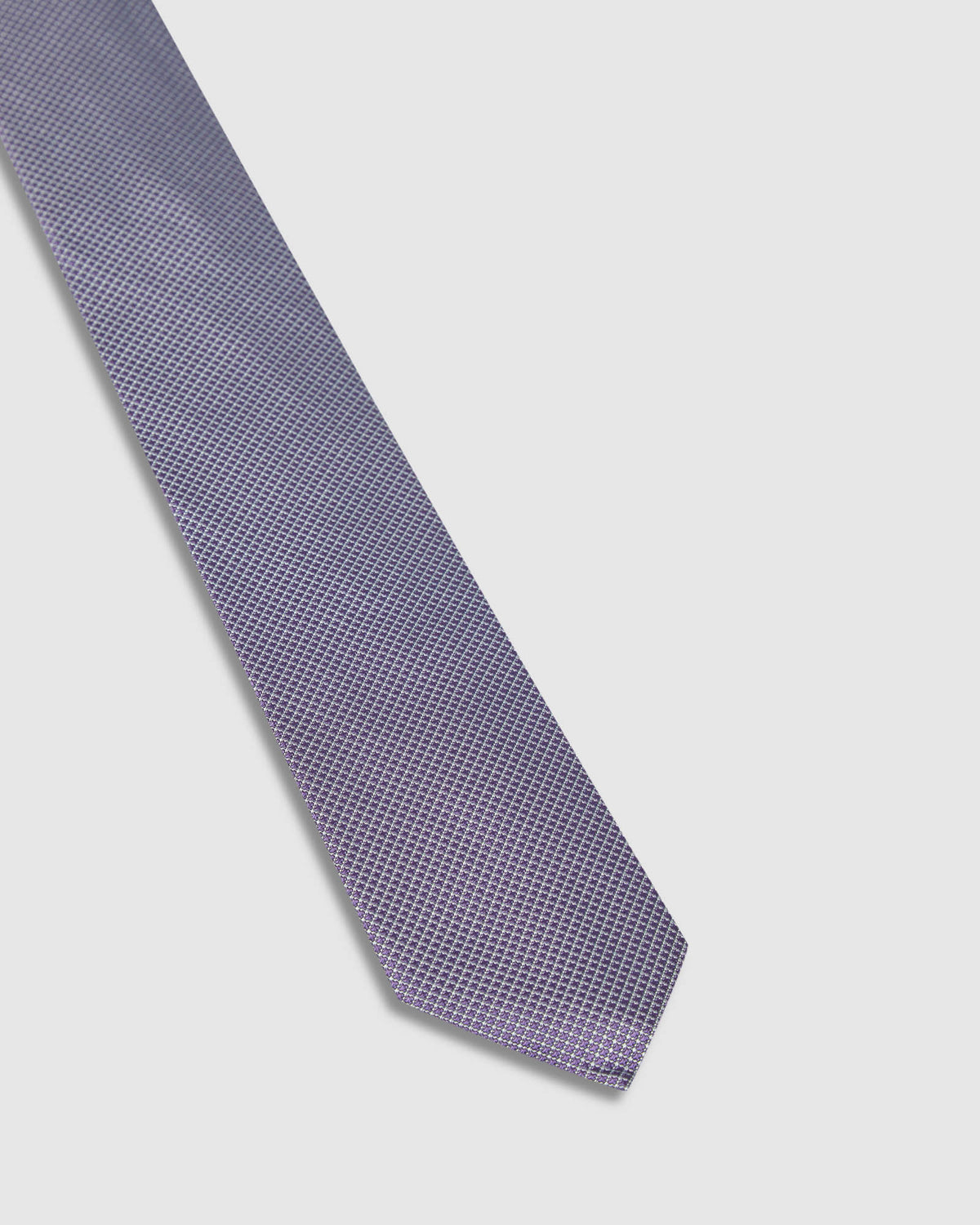 SILK GRID TIE PUPLE