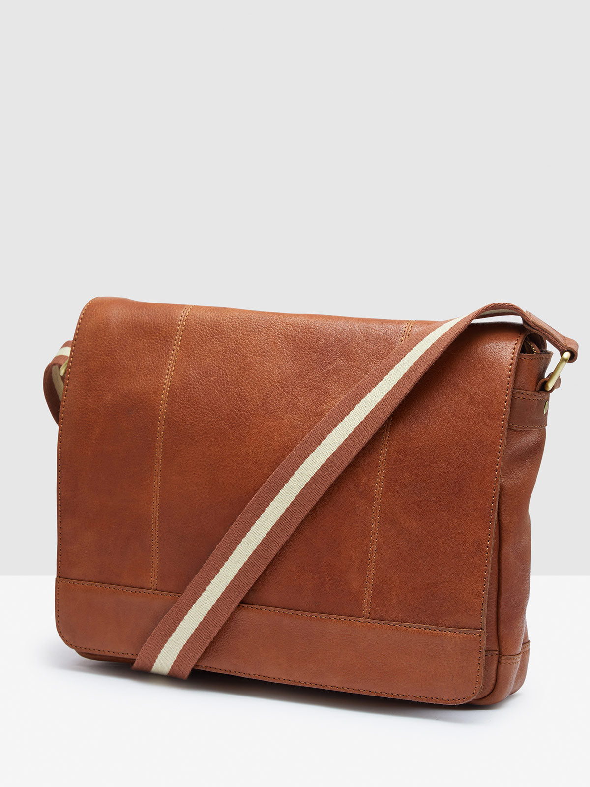 JAMESON SMALL MESSENGER BAG VINTAGE NEW TAN