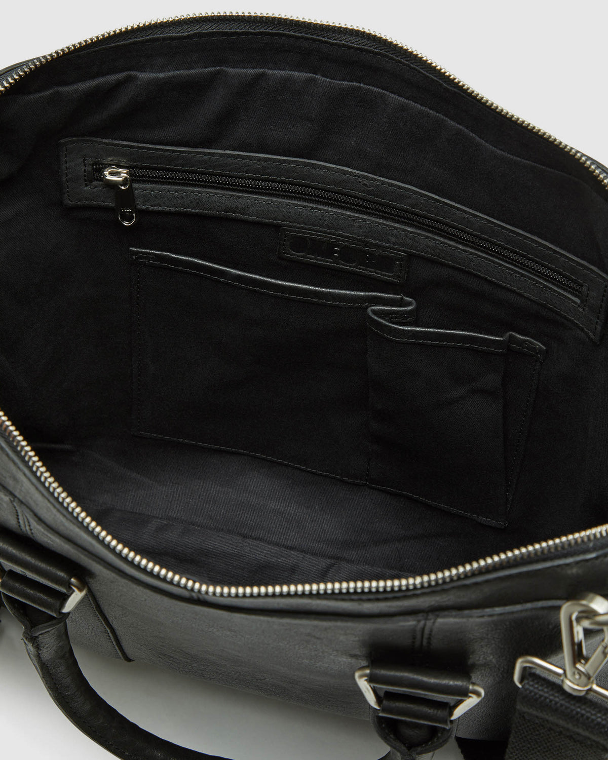 LAMBERT LEATHER BRIEFCASE