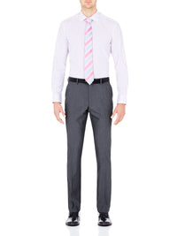 T22 WOOL SUIT TROUSERS GREY
