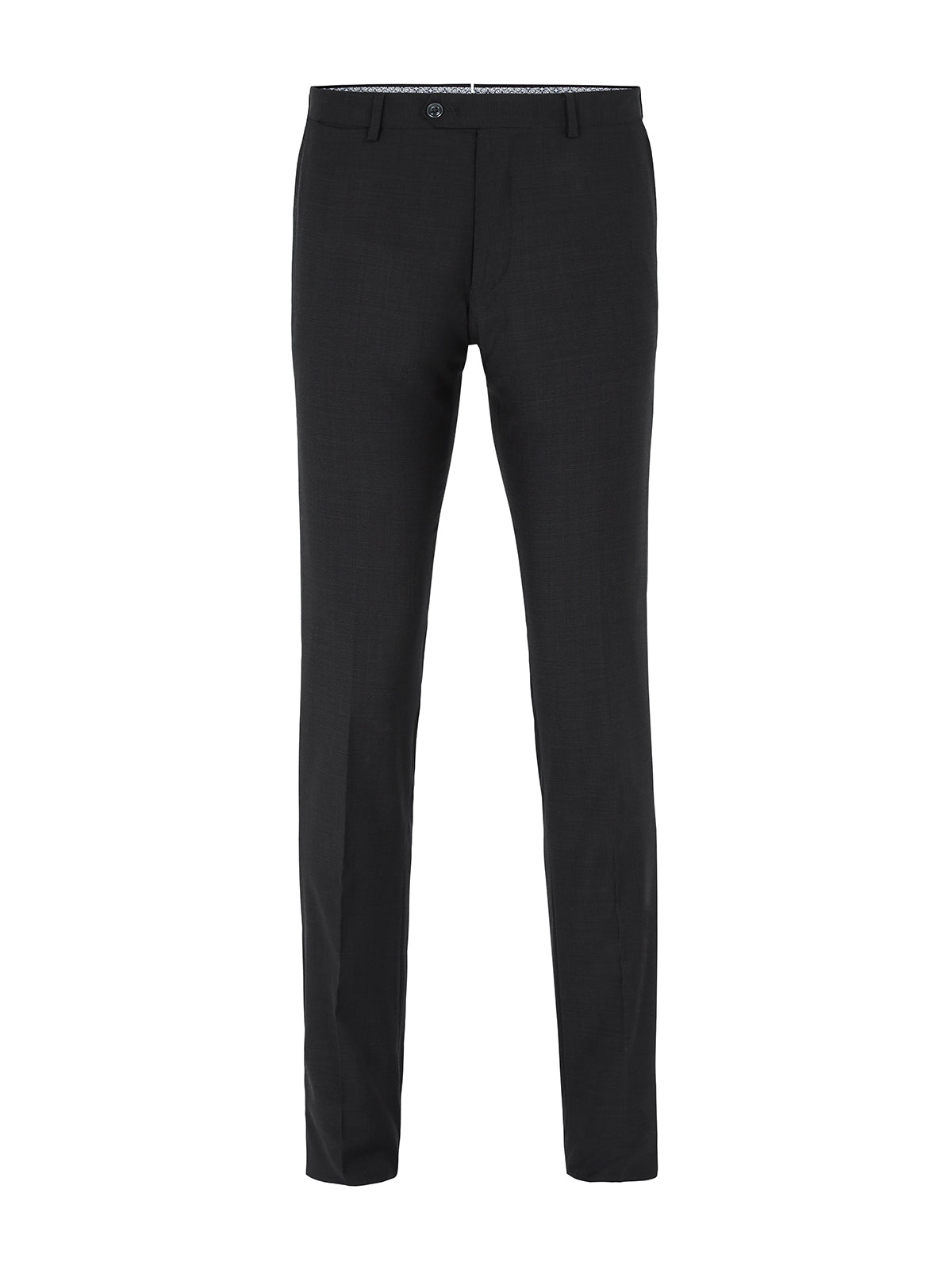 AUDEN WOOL TROUSERS CHARCOAL