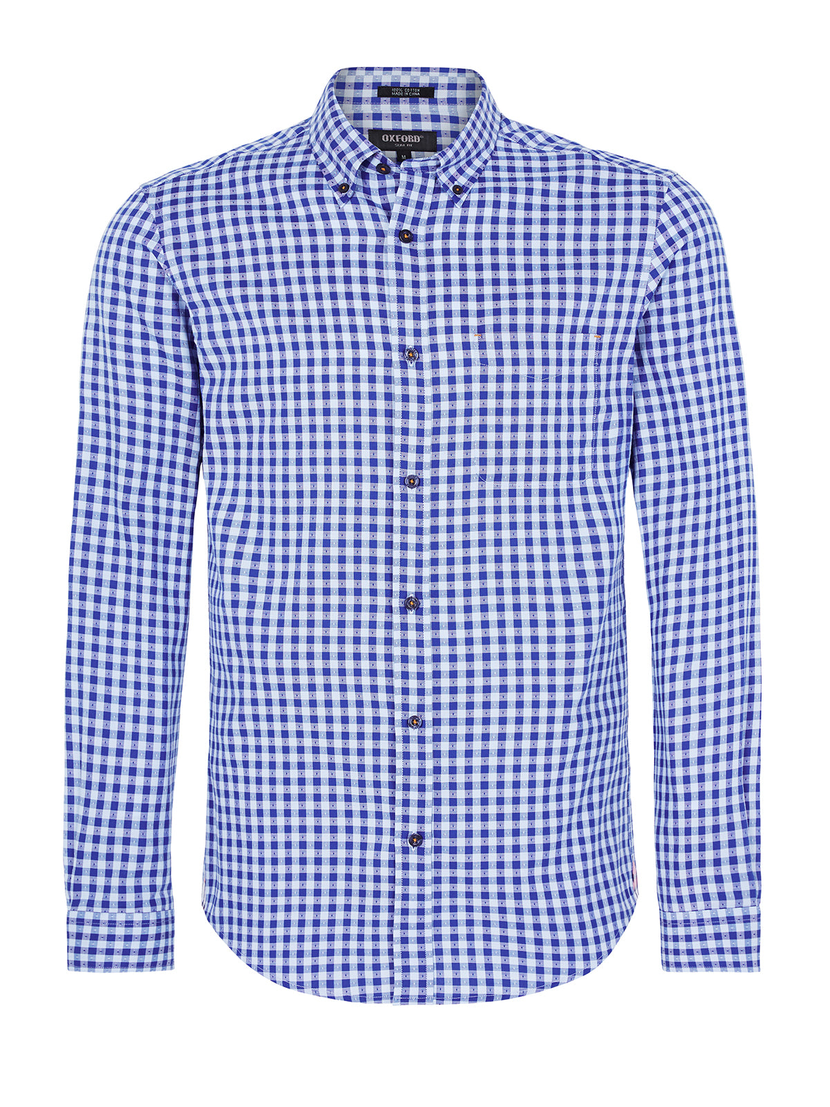 UXBRIDGE CHECKED SHIRT SKY/BLUE