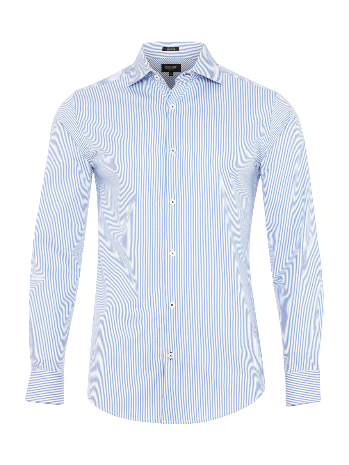 TRAFALGAR STRIPE SHIRT BLUE