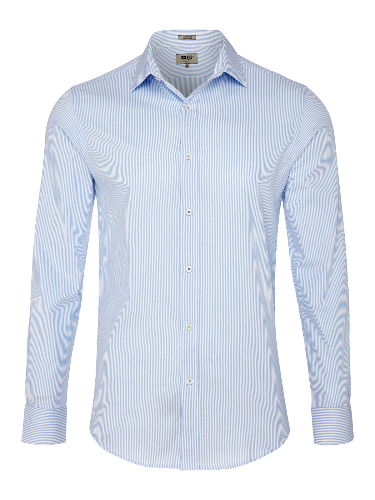 IMPERATIVE STRIPED SHIRT BLUE
