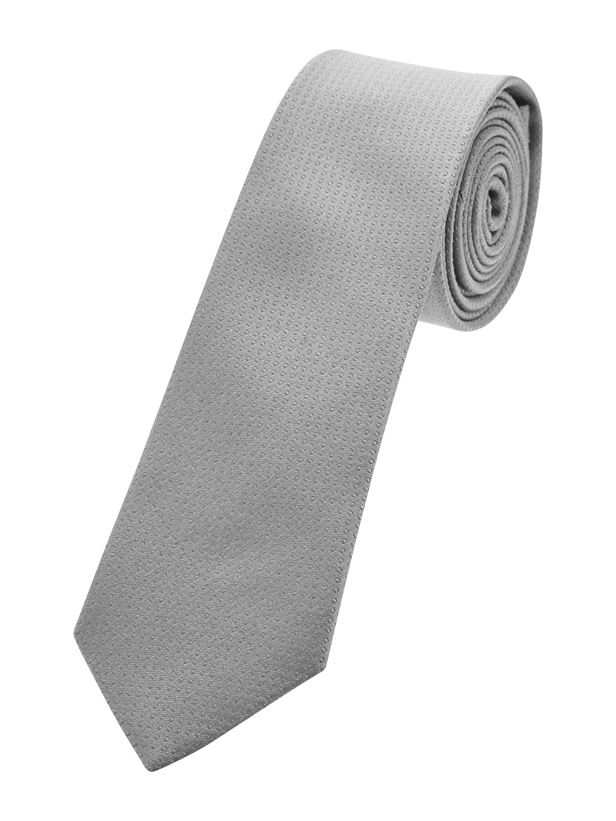 SILK TIE GREY DOTS SKNY