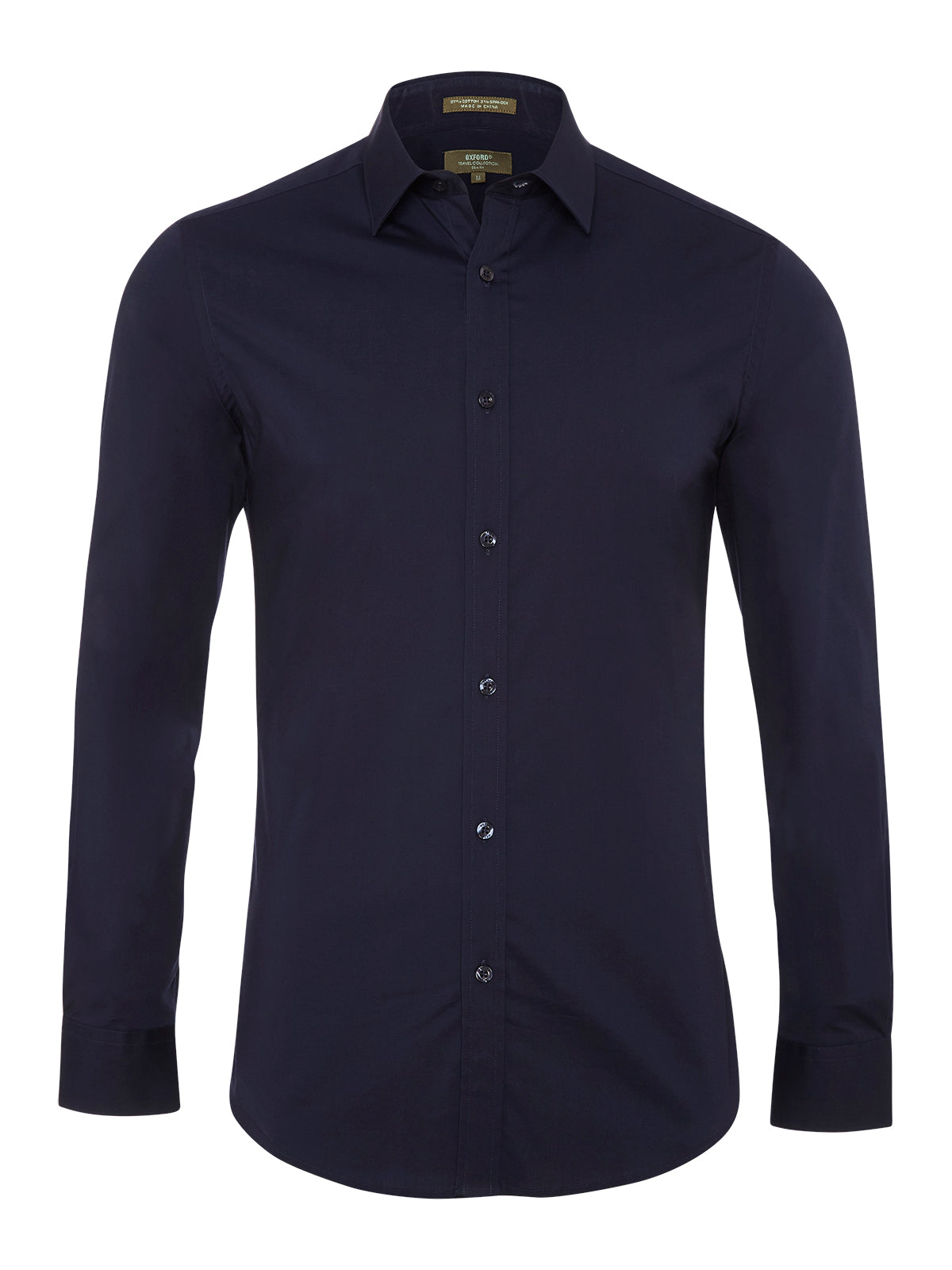 NAVY STRETCH TRAVEL SHIRT NAVY