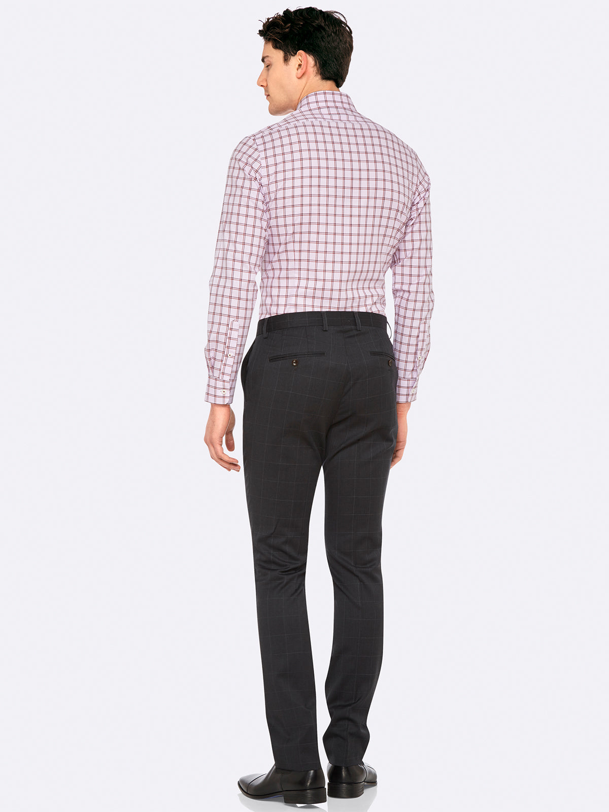 BECKTON CHECKED SHIRT PINK