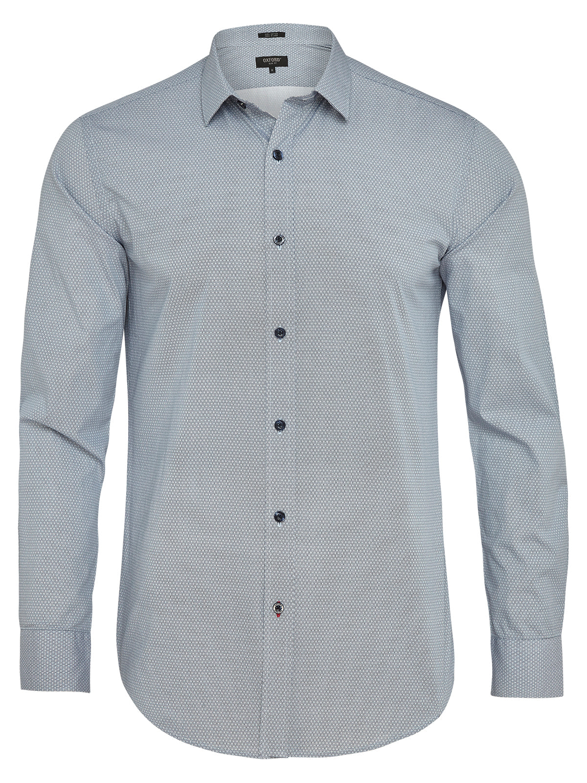 KENTON PRINTED SHIRT NAVY