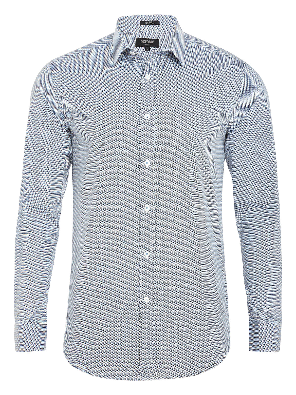 KENTON PRINTED SHIRT BLUE