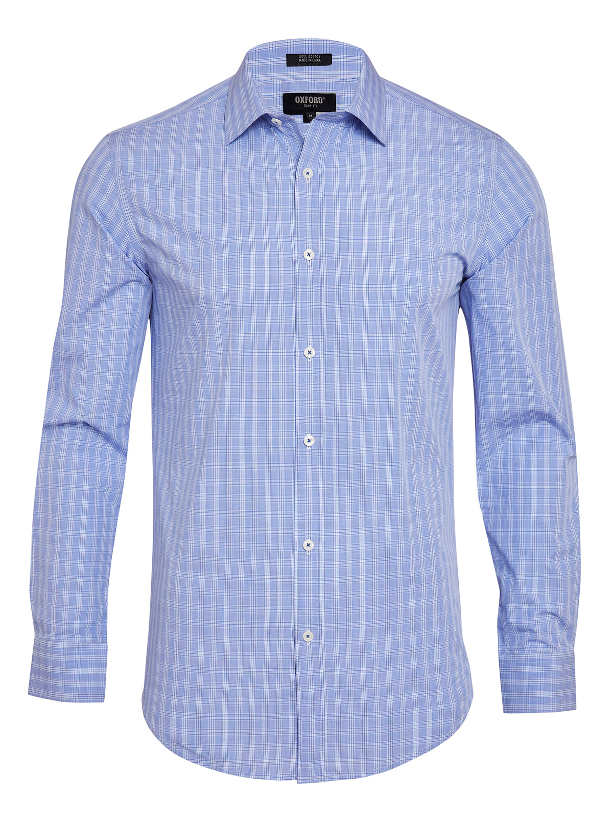 BECKTON CHECKED SHIRT BLUE/NAVY