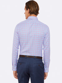 KENSINGTON LUXURY SHIRT BLUE/PINK