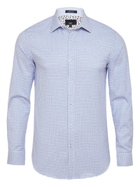 BECKTON LUXURY SHIRT BLUE