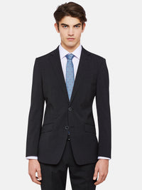 N.HOPKINS WOOL STRETCH SUIT JACKETX