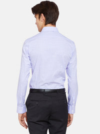 BECKTON CHECKED SHIRT LILAC