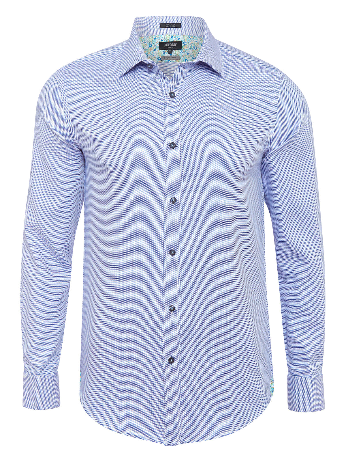 BECKTON DOBBY FRENCH CUFF SHIRT