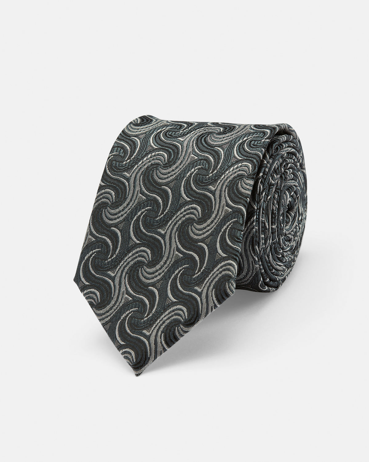 TIE SILK SWIRL REGULAR