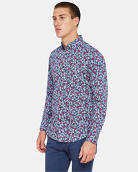 STRATTON FLORAL PRINTED SHIRT