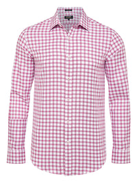 BECKTON CHECKED EASY CARE SHIRT