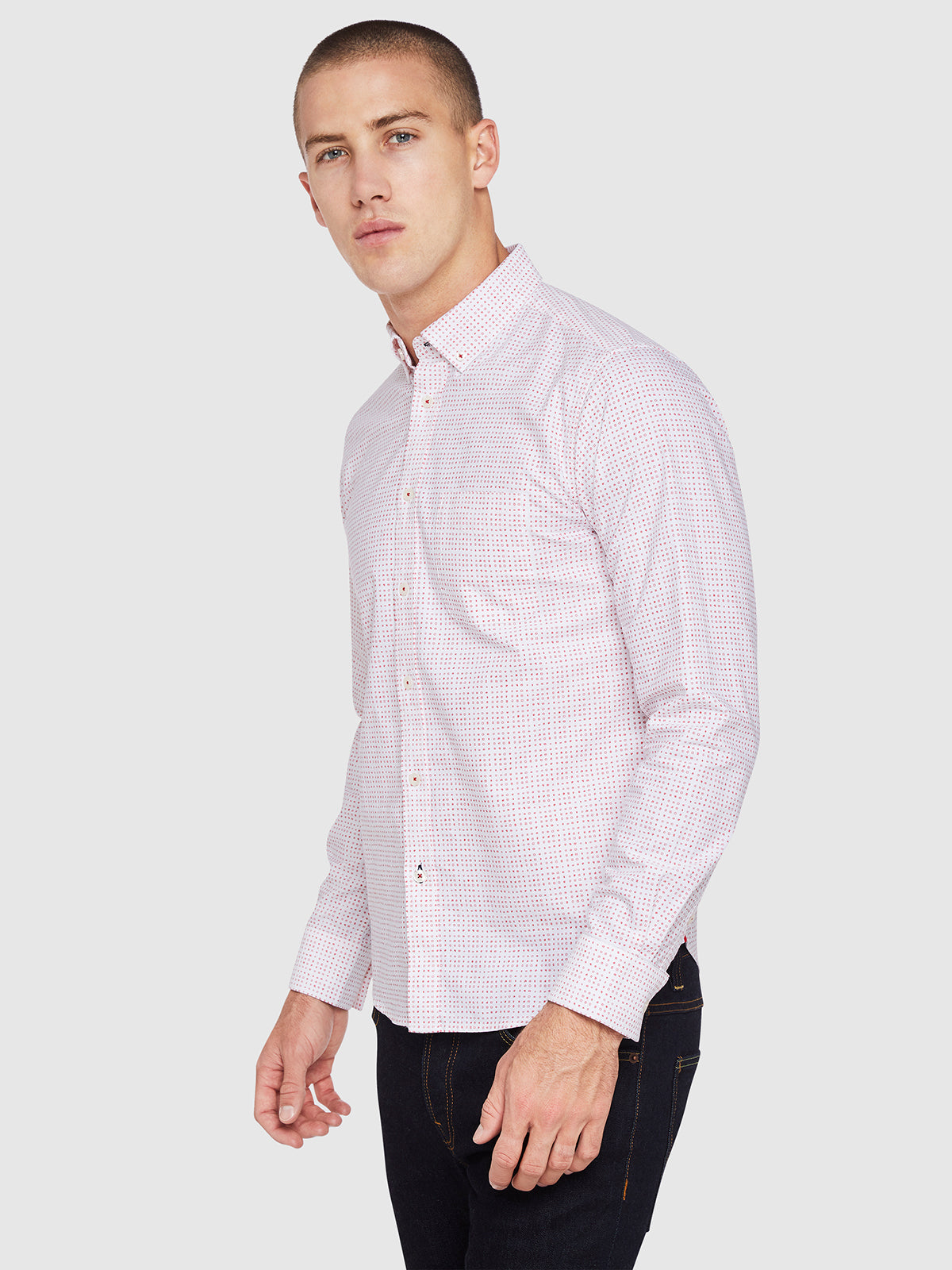 STRATTON OXFORD PRINTED SHIRT