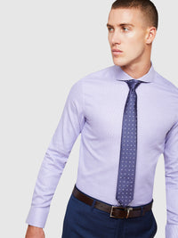 KENSINGTON LUXURY SHIRT PURPLE