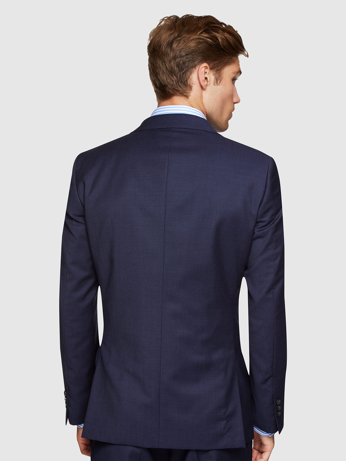 NEW HOPKINS WOOL SUIT JACKET NAVY